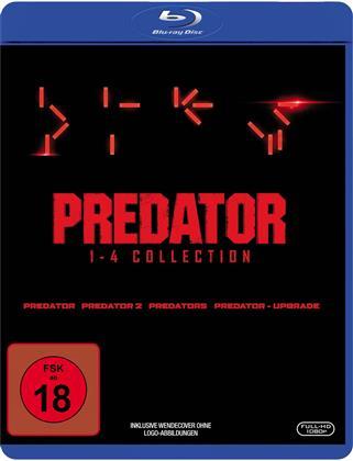 Predator 1-4 (4 Blu-rays)