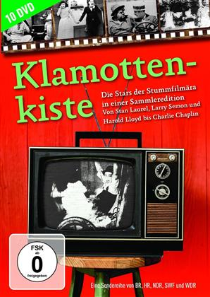 Klamottenkiste - Die Stars der Stummfilmära in einer Sammleredition (10 DVDs)