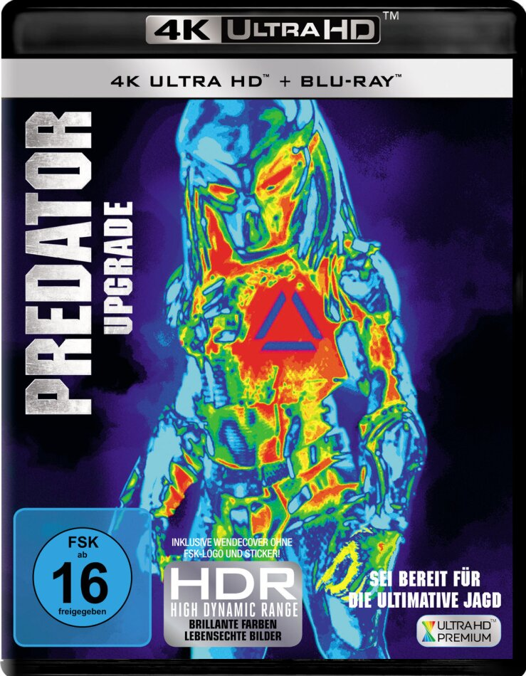 Predator - Upgrade (2018) (4K Ultra HD + Blu-ray)