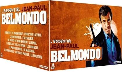 Jean-Paul Belmondo - L'essentiel (15 DVDs)