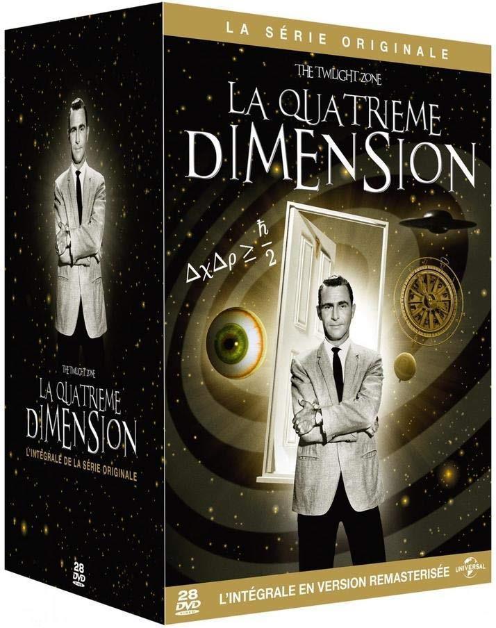 La quatrième dimension (La série originale) - L'intégrale (Remastered, 28 DVDs)