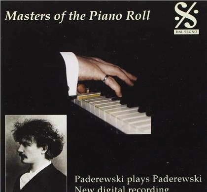 Ignacy Jan Paderewski (1860-1941) - Masters Of The Piano Roll - Paderewski Plays Paderewski