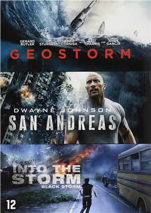 Geostorm / San Andreas / Into the Storm (3 DVDs)