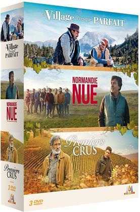 Un village presque parfait / Normandie nue / Premiers crus (3 DVD)