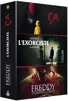 Ça (2017) / Les griffes de la nuit (1984) / L'Exorciste (1973) (3 DVD)