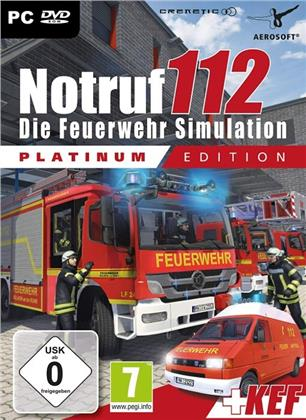Notruf 112 - Die Feuerwehr Simulation (Platinum Edition)