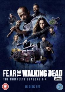 Fear The Walking Dead - Seasons 1-4 (16 DVDs)
