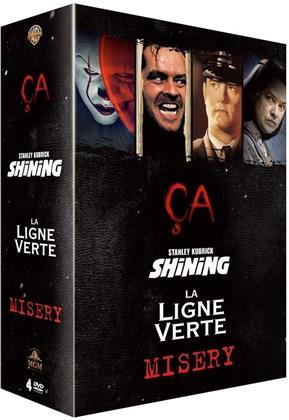 Ça / Shining / La Ligne verte / Misery (4 DVDs)