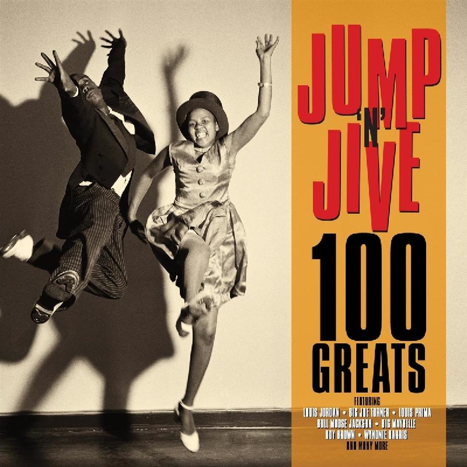 100 Greats Jumpin' Jive (Not Now Music, 4 CDs)