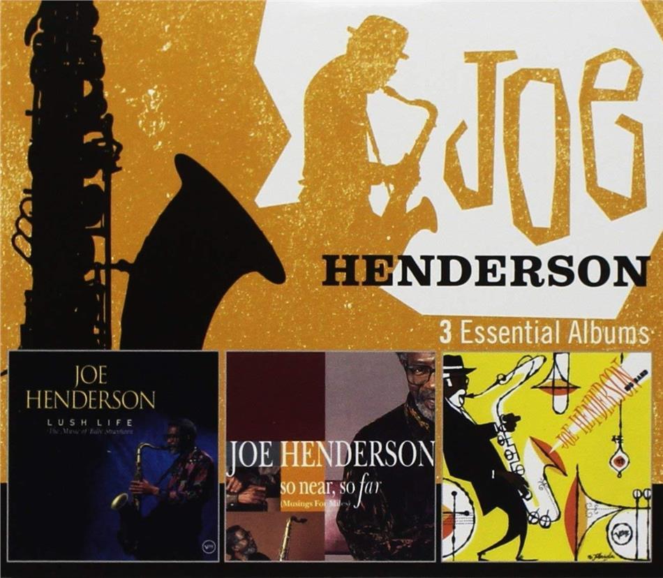 Joe Henderson - 3 Essential Albums (3 CDs)