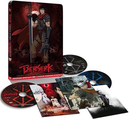 Berserk - L'epoca d'oro - La Trilogia Cinematografica (Steelbook, 3 DVD)