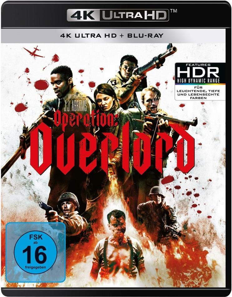Operation: Overlord (2018) (4K Ultra HD + Blu-ray)