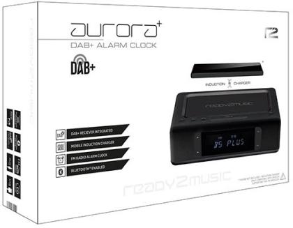 ready2music Aurora Plus, Alarm Clock - black