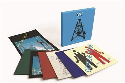 """Depeche Mode - Construction Time Again - The Singles (6 12"""" Maxis)"""