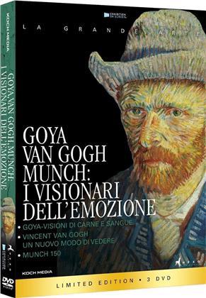 Goya, Van Gogh, Munch - I visionari dell'emozione (La Grande Arte, Limited Edition, 3 DVDs)