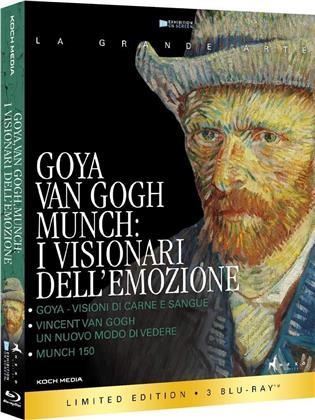 Goya, Van Gogh, Munch - I visionari dell'emozione (La Grande Arte, Edizione Limitata, 3 Blu-ray)