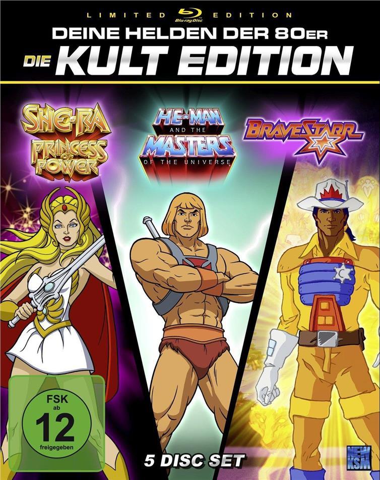 He-Man / She-Ra / BraveStarr - Deine Helden der 80er - Die Kult Edition (Limited Edition, 5 Blu-rays)