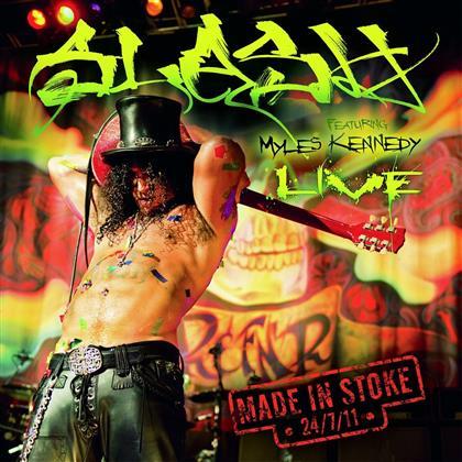 Slash feat. Myles Kennedy (Alter Bridge/Slash) - Made In Stoke 24/7/11 (2019 Reissue, 3 LPs + CD)