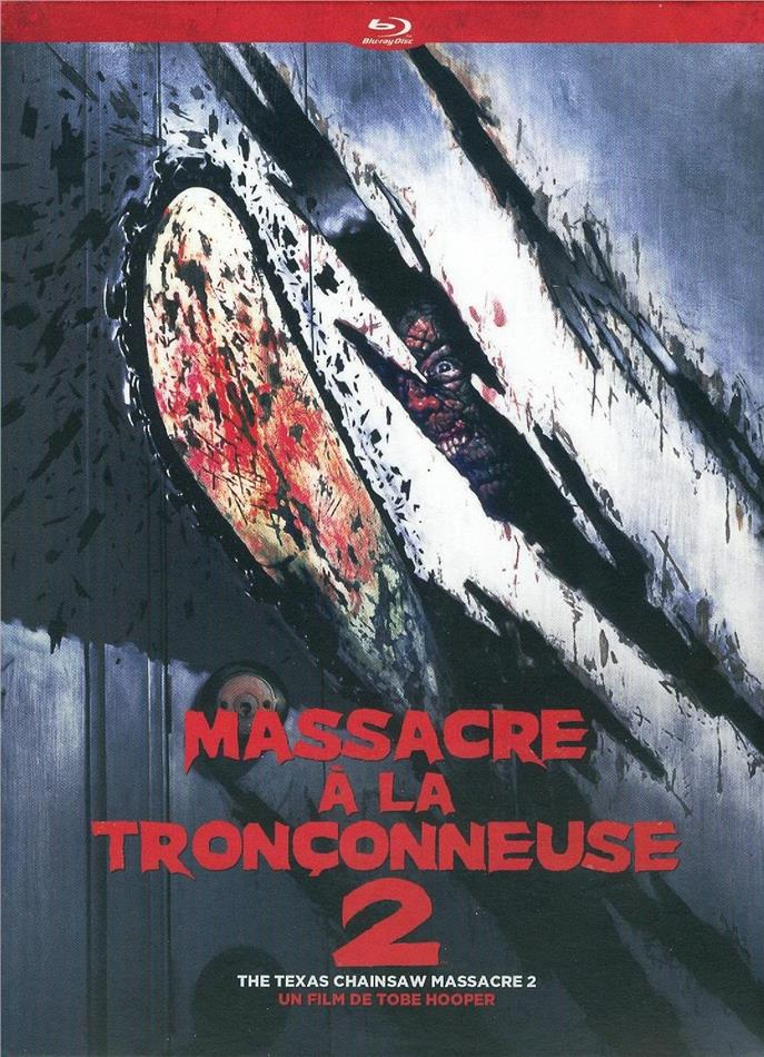 Massacre a la Tronçonneuse 2 - The Texas Chainsaw Massacre 2 (1986) (Digipack, Blu-ray + 2 DVDs)