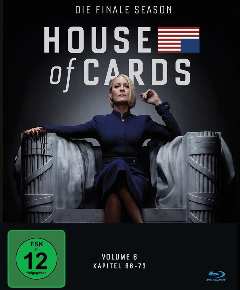 House of Cards - Staffel 6 - Die finale Staffel (3 Blu-rays)