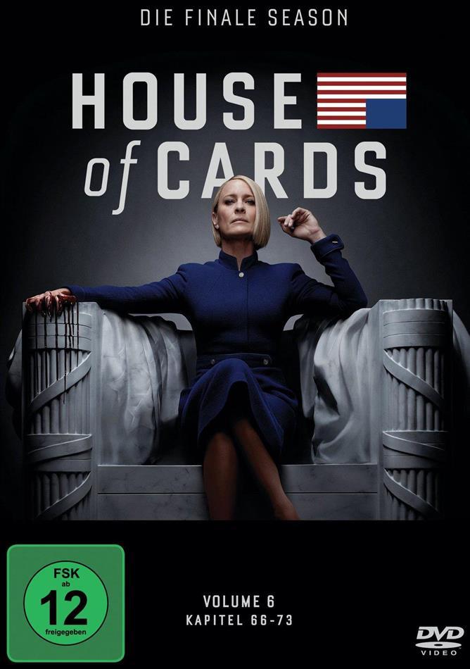 House of Cards - Staffel 6 - Die finale Staffel (3 DVDs)