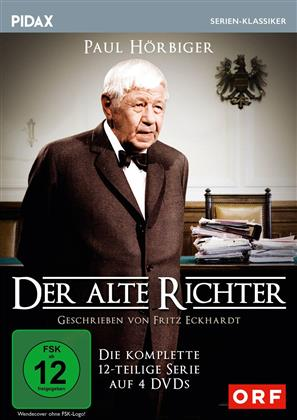 Der alte Richter - Die komplette 12-teilige Serie (Pidax Serien-Klassiker, 4 DVDs)