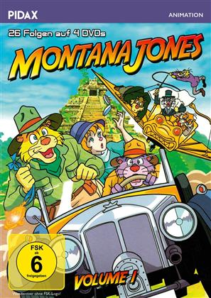 Montana Jones - Vol. 1 (Pidax Animation, 4 DVDs)