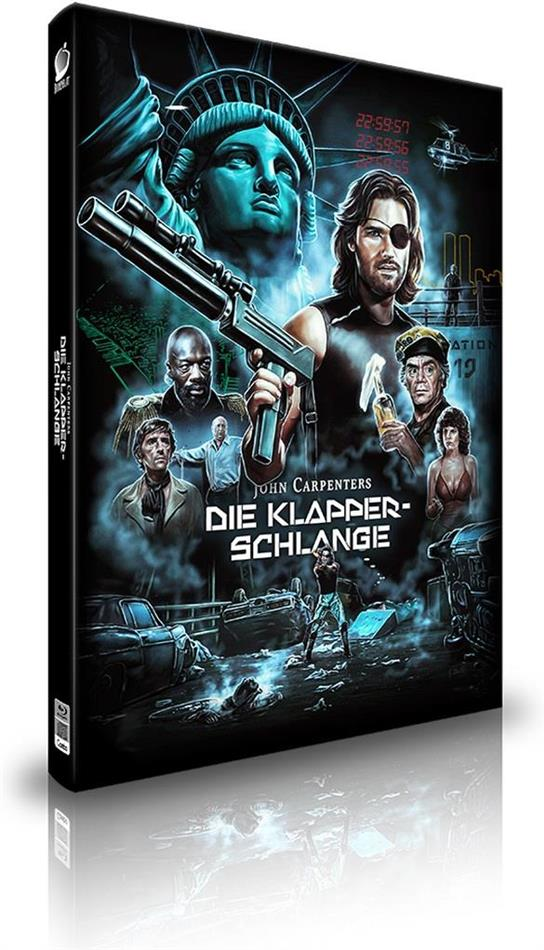 Die Klapperschlange (1981) (Cover A, Limited Edition, Mediabook, 2 Blu-rays + CD)