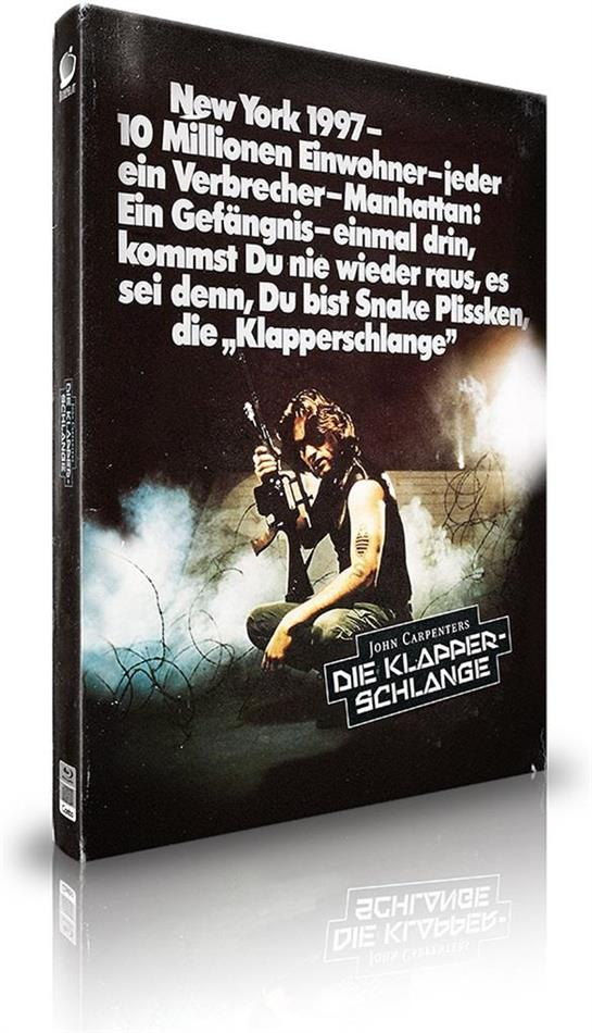 Die Klapperschlange (1981) (Cover C, Limited Edition, Mediabook, 2 Blu-rays + CD)