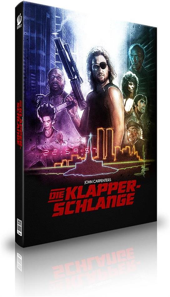 Die Klapperschlange (1981) (Cover B, Limited Edition, Mediabook, 2 Blu-rays + CD)
