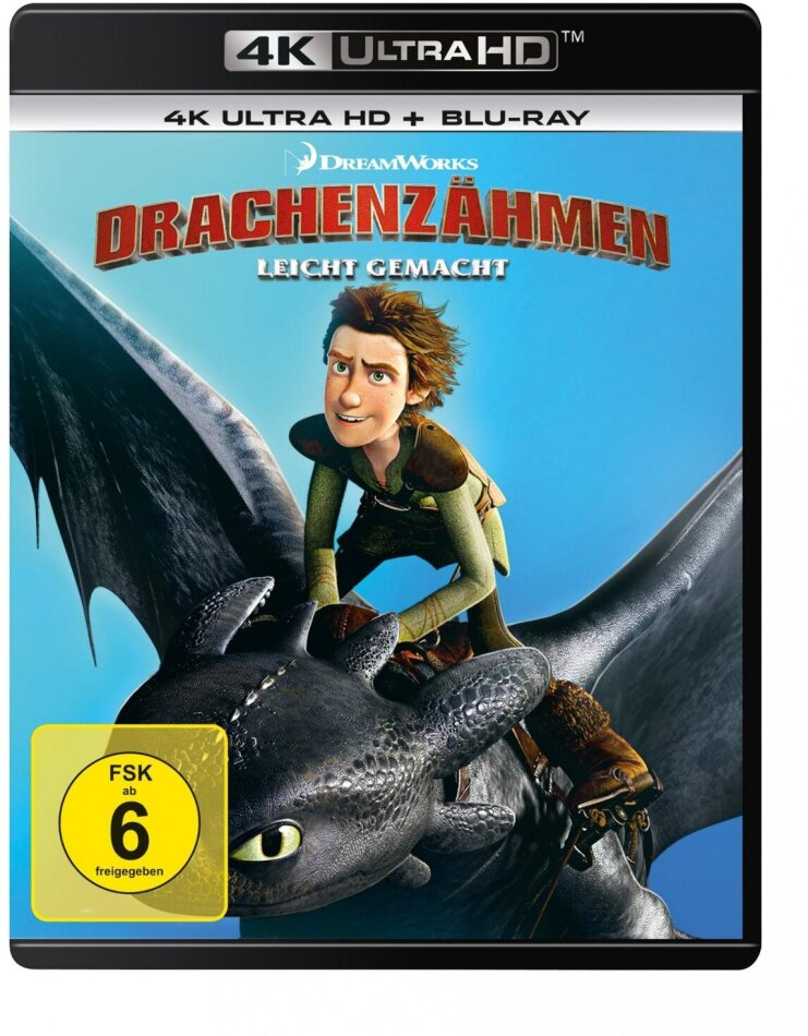 Drachenzähmen leicht gemacht (2010) (4K Ultra HD + Blu-ray)