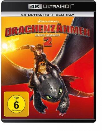 Drachenzähmen leicht gemacht 2 (2014) (4K Ultra HD + Blu-ray)