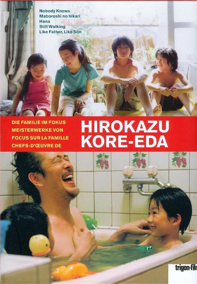 Hirokazu Kore-Eda - Die Familie im Fokus / Focus sur la famille: Meisterwerke von / Chefs d'œuvre de Hirokazu Kore-Eda (Limited Edition, 5 DVDs + Buch)