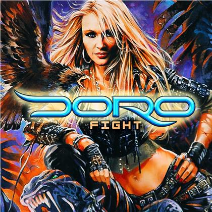 Doro - Fight (2019 Reissue, Limited Edition, Splattered Vinyl, LP)