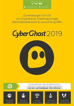 CyberGhost 2019 [3 Device] [PC/Mac/Android]