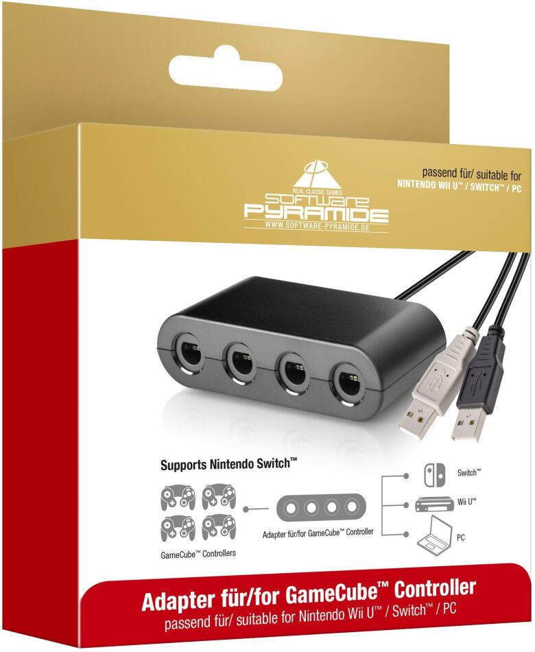 Switch Adapter für GameCube Controller
