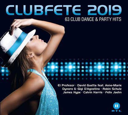 Clubfete 2019 (63 Club Dance & Party Hits) (3 CDs)