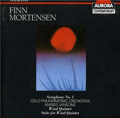 Oslo Wind Soloists, Finn Mortensen (1922-1983), Mariss Jansons & Oslo Philharmonic Orchestra - Symfoni 1 / Blasekvintett