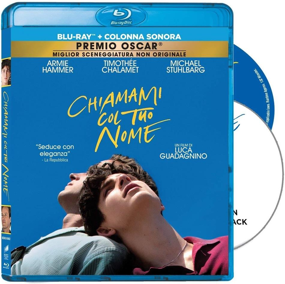 Chiamami col tuo Nome (2017) (Blu-ray + CD)