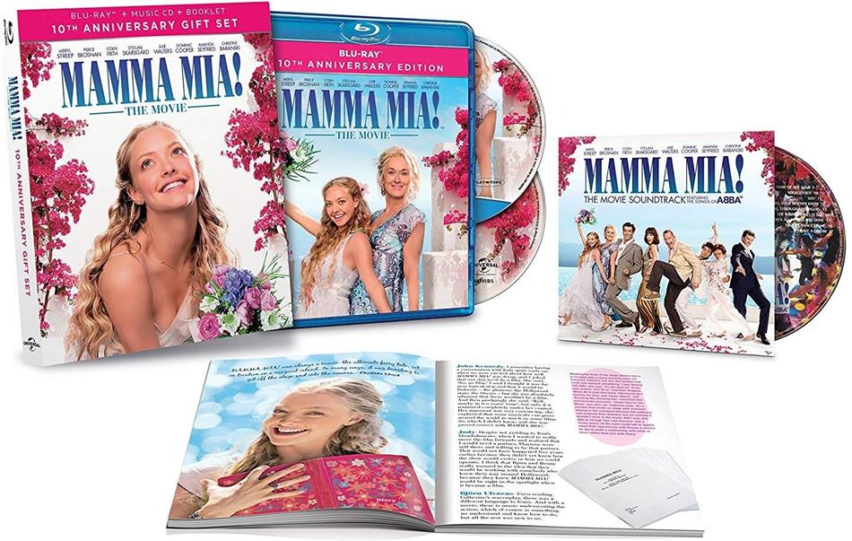 Mamma Mia! - 10th Anniversary Gift Set (2008) (Blu-ray + CD + Booklet)