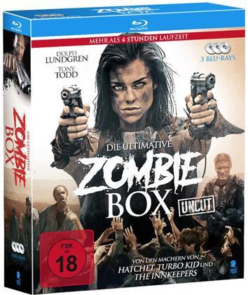 Die ultimative Zombie Box (Uncut, 3 Blu-rays)