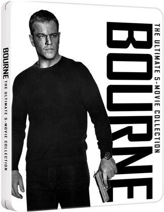 Bourne Ultimate Collection (Steelbook, 5 Blu-rays)