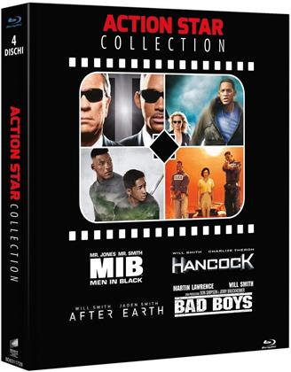 Will Smith Collection (Action Star Collection, 4 Blu-rays)