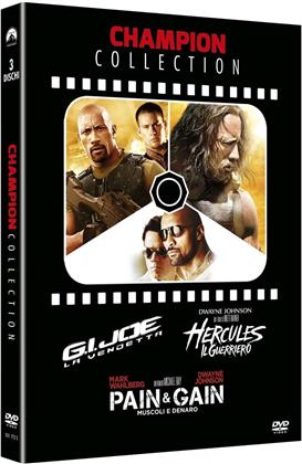 Dwayne Johnson Collection (Champion Collection, 3 DVDs)
