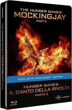 Hunger Games 4 - Il canto della rivolta - Parte 2 (2015) (Steelbook)