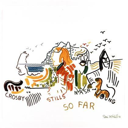 Crosby Stills Nash & Young - So Far (LP)