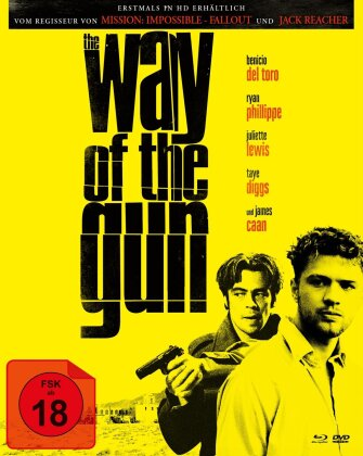 The Way of the Gun (2000) (Cover A, Limited Edition, Mediabook, Blu-ray + DVD)