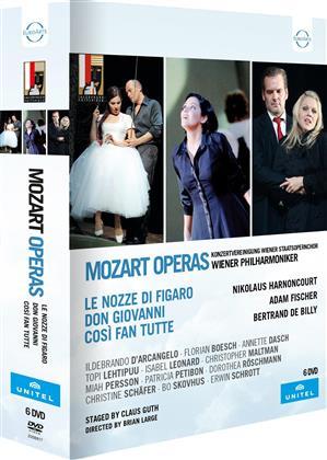Wiener Philharmoniker - Mozart - Da Ponte Operas - Così fan tutte / Don Giovanni / Le nozze di Figaro (Salzburger Festspiele, Unitel Classica, Euro Arts, 6 DVDs)