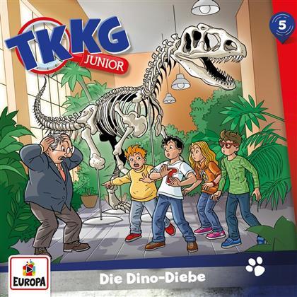 TKKG Junior - 005/Die Dino-Diebe