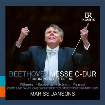 Mariss Jansons, Ludwig van Beethoven (1770-1827) & Symphonieorchester des Bayerischen Rundfunks - Messe C-Dur / Leonoren-Ouvertüre